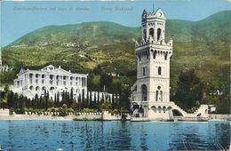 AK / CP Gardone-Riviera Gardasee Torre Ruhland Color ~1910 #08 - Andere Städte