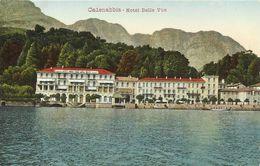 AK / CP Cadenabbia Como Lombardei Hotel Belle Vue Color 1907 #01 - Italië