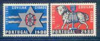 Portugal - 1970 Covilha (Complete Set) - Af. 1079 To 1080 - MLH - Nuevos