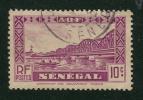 1935 - France - Afrique A.O.F - Sénégal - Pont Faidherbe  -10 Cts Lilas - - Oblitérés