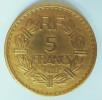 5 Francs 1946 C   Lavrillier - France
