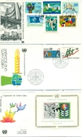United Nations Unies Vienne 1979  1984 21 FDC Small Collection - FDC