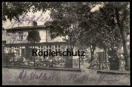ALTE POSTKARTE PERLEBERG GASTHOF ZUR EISENBAHN Ansichtskarte AK Postcard Cpa - Perleberg