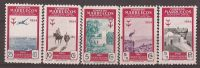 MA394-LT1TCO.Maroc.Marocc O .MARRUECOS ESPAÑOL..Lote PRO TUBERCULOSOS.1954.(Ed 394/9**) Sin Charnela MUY BONITA - Otros