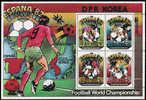 Soccer Football Fussball Korea KB 2094/7  1982 World Cup Spain MNH ** - World Cup