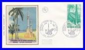 """FDC (GF-PJ) - Guyane, Terre De L´espace. Premier Lancement De La Fusée """"Diamant B"""" - N° 1635 (Yvert) - France 1970 - 1970-1979"""