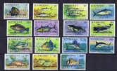 St Vincent 1979 Independence Overprint Michel 544 - 558, Fish - St.Vincent (1979-...)