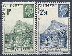 Guinée, N° 176 à 177 ** Neuf