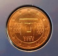=====  5 Cent Malte 2008 état BU  ===== - Malta
