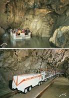 * 2 CP Saint Pé De Bigorre - Grottes De Betharram - Le Train / La Rivière - Saint Pe De Bigorre