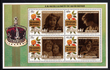 Aitutaki Scott #446 MNH Souvenir Sheet Queen Mother´s 90th Birthday - Aitutaki