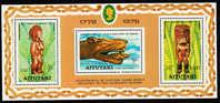 Aitutaki Scott #162a MNH Souvenir Sheet Of 3 - Aitutaki
