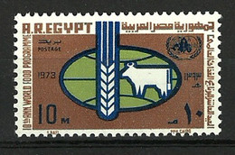 Egypt 1973 ( FAO, 10th Anniv. Of The World Food Org. ) - MNH (**) - ACF - Aktion Gegen Den Hunger