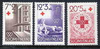 FINLAND 1951 Red Cross Set MNH / **.  Michel 392-94 - Finland