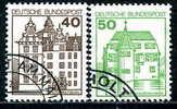 BRD - Michel 1037 / 1038 - OO Gestempelt (B) - 40, 50Pf B&S - Gebraucht