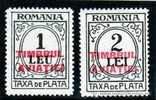 Serie Completa  Romania Año 1931  Yvert Nr.86/7 Overprint  Timbrul Aviatiei  Nueva - 1918-1948 Ferdinand, Charles II & Michael