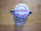 Bouteille Complète En Verre Avec Son Bouchon Porcelaine Et Son Joint Limonade René Monier à Valence - Autres Collections