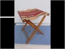 Siege Pliant Bois Tissu Enfant Pecheur - Furniture