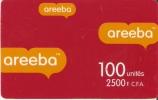 TARJETA DE BENIN DE 2500 FCFA -AREEBA - Benin