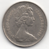GRAN BRETAGNA 10 NEW PENCE 1968 - 1971-… : Monete Decimali