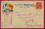 WW I FRANCE-SERBIA, ECOLE MILITAIRE SERBE DE JAUSIERS-BARCELONNETTE MILITARY CENSORED CARD 1917 - Marcophilie (Lettres)