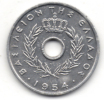 GRECIA 10 LEPTA 1954 - Grecia