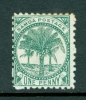 Samoa: 1895/1900   Palm Trees    SG58b      1d    Deep Green   [Perf: 11]      MH - Samoa