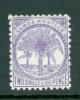 Samoa: 1895/1900   Palm Trees    SG64a      2/6d    Reddish Lilac   [Perf: 11]      MH - Samoa