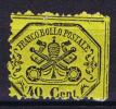 Stato Pontificio, Kirchenstaat-Mi 24A,   UNUSED - Papal States