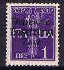 ZARA - 1943-DEUTSCHE BESETZUNG Michel Nr 27 Unused - Occup. Tedesca: Zara