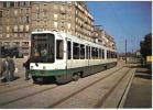 Carte Postale 44. Nantes Le Tramway  Trés Beau Plan - Nantes