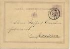 F0097 - Belgique  - Entier De Gand à Mouscron - 1878 - Postwaardestukken