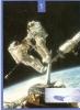 """CPM 10X15 .CANDIDAT POUR L'ESPACE  . 2 ASTRONAUTES """" Meccanos"""" AMERICAINS FLOTTANT SUR LEUR VAISSEAU SPATIAL - Espace"""