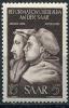 Germany SAAR 1951 Sc B83 MI 308 MNH John Calvin And Martin Luther - Saar
