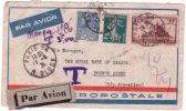 """1931- Env. Aéropostale Pour Buenos Aires Affr. à 8,50 F  Avec """" Manque 1,50 / T 3,00 F  """" - Poststempel (Briefe)"""