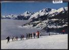 Crans Sur Sierre; L´école Suisse De Ski Vers 1967 ; Grand Format (5503) - VS Wallis
