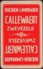 Speelkaart Brouwerij  Callewaert  Zwevezele - Carte Da Gioco