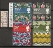 UK - 1982 BRITISH TEXTILES - SG 1192/95 - Yvert 1052/5  - USED - 1952-.... (Elizabeth II)