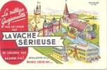 """BUVARD - LA VACHE SERIEUSE - Le Village Grosjeanville Vous Est Offert Par  ....de """"EFGE"""" - Alimentaire"""