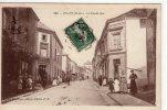 Jallais..très Animée..la Grande Rue..commerces..Hôtel Banchereau..attelage - Autres Communes