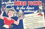 BUVARD - MERE PICON Les Meilleurs Fromages, Les Plus Beaux Cadeaux - Alimentaire