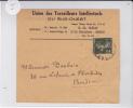 SEMEUSE CAMEE  - DALLAY N° 278 SEUL Sur BANDE JOURNAL De BORDEAUX - COTE = 100 EUROS - Marcophilie (Lettres)