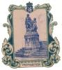 PEPINSTER - Guerre 14/18 - Découpis Du Monument Aux Héros - Une Notice Historique Est Collée Au Dos.  (sf45) - Découpis