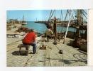 Vecchia Cartolina Di  Cattolica Il Porto  Pescatori E Reti - Rimini