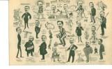 59NORD-LILLE- Caricature NOS  EDILES (édiles) Session 1908-1912 A Vol De Plume Juniors - Lille