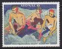 Timbre MONACO -  YT 1244 - Peinture DERAIN - Painting Stamp - Kunst Briefmarke - Künste