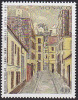 Timbre MONACO -  YT 1392 - Peinture MAURICE UTRILLO - Painting Stamp - Kunst Briefmarke - Impressionismus