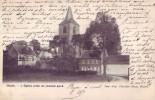 OHAIN = L'église Prise Du Chemin Pavé  (1905) - Lasne
