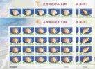 2010 TAIWAN  SEA SHELL(IV) 4V F-SHEET - Blocks & Sheetlets