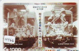Carte Prépayée  Japon *  TRAIN * (10.966)  Japan Prepaid Card * Eisenbahn ZUG * Karte * TREIN * - Treinen